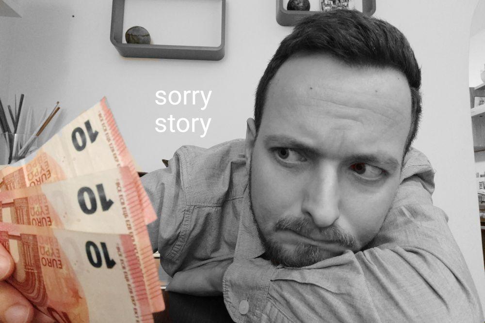 Sorry story alebo ako som zas nikomu nepomohol
